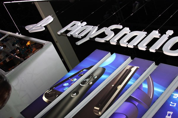 The Playstation booth!