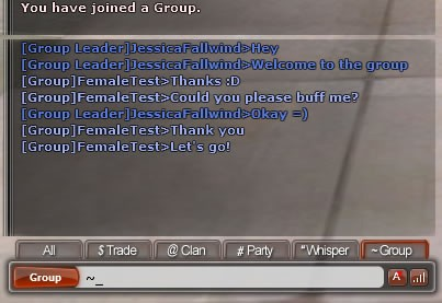 Group Chat UI