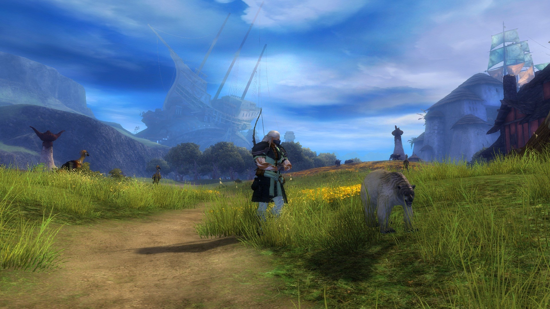 Guild Wars 2 - Lion's Arch far behind