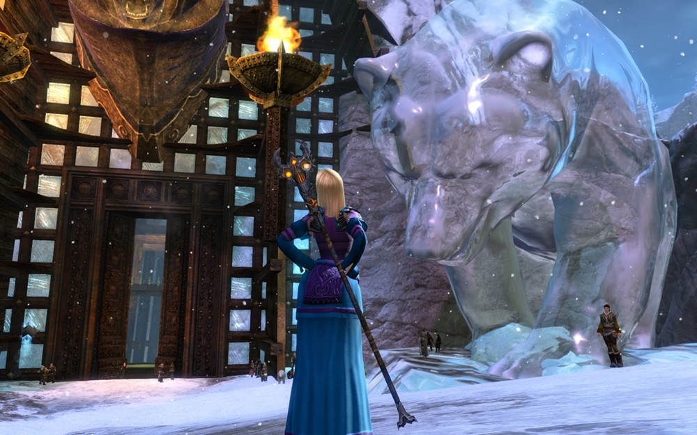 Guild Wars 2 - yummy... giant gummy bear!