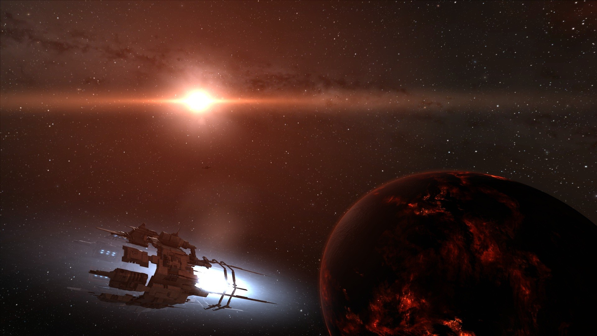 EVE Online - Welcome to the galaxy of terror