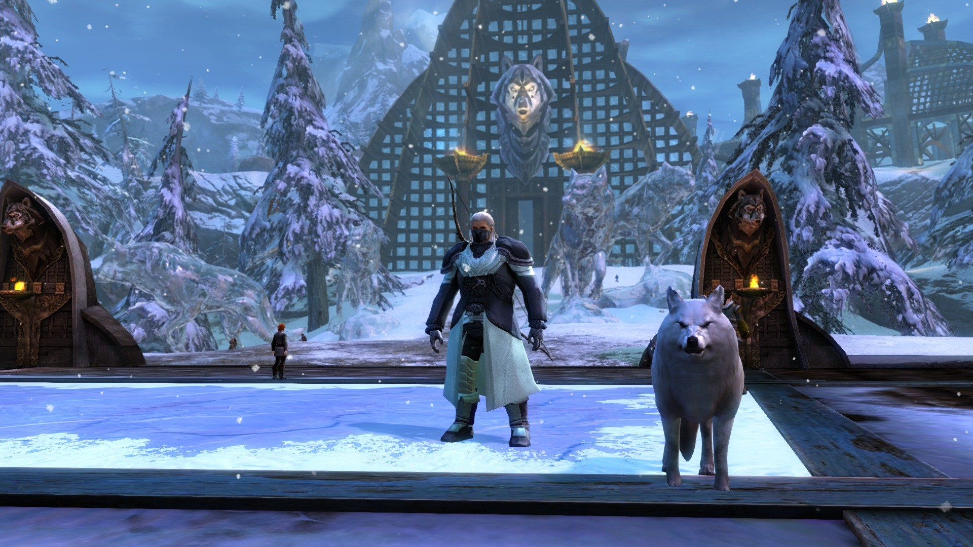 Guild Wars 2 - Wolf Shrine