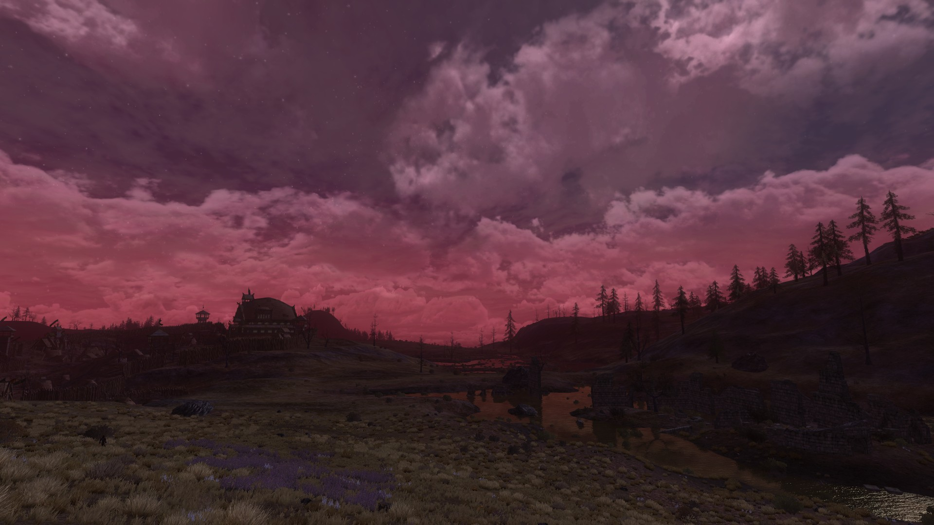 Lord of the Rings Online - The Wold at Dusk