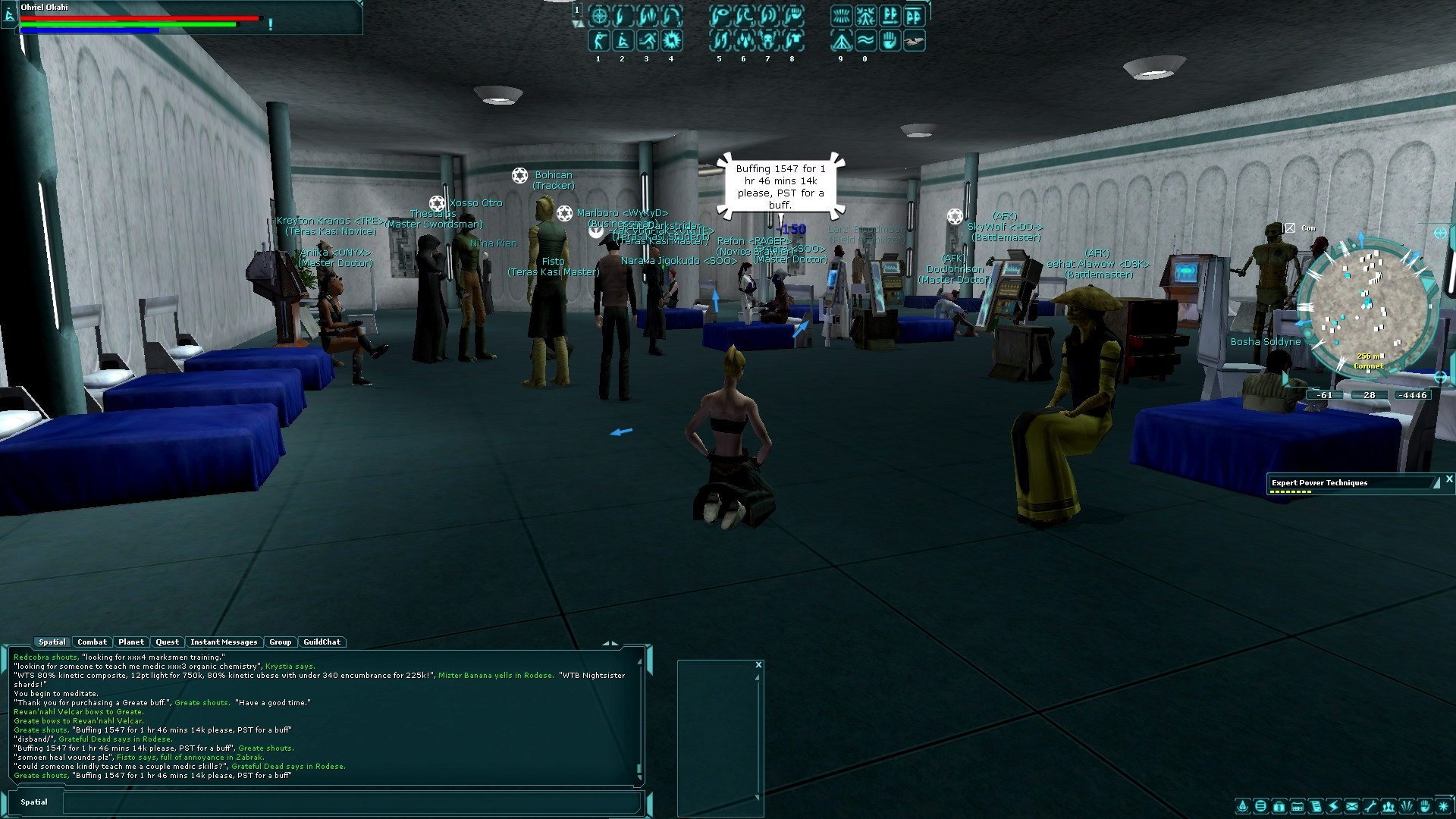 Star Wars Galaxies - SWG precu server...
