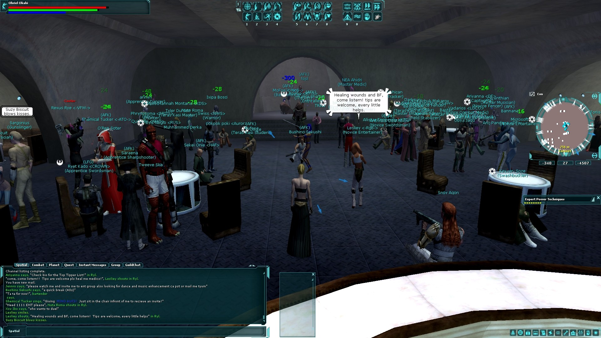 Star Wars Galaxies - Cantina precu