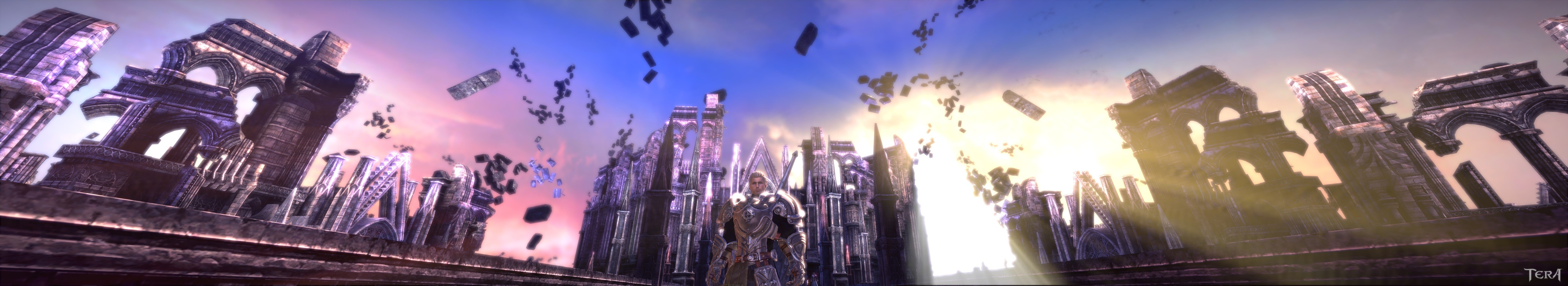 TERA - Just got eyefinity, holy hell is it amazing!