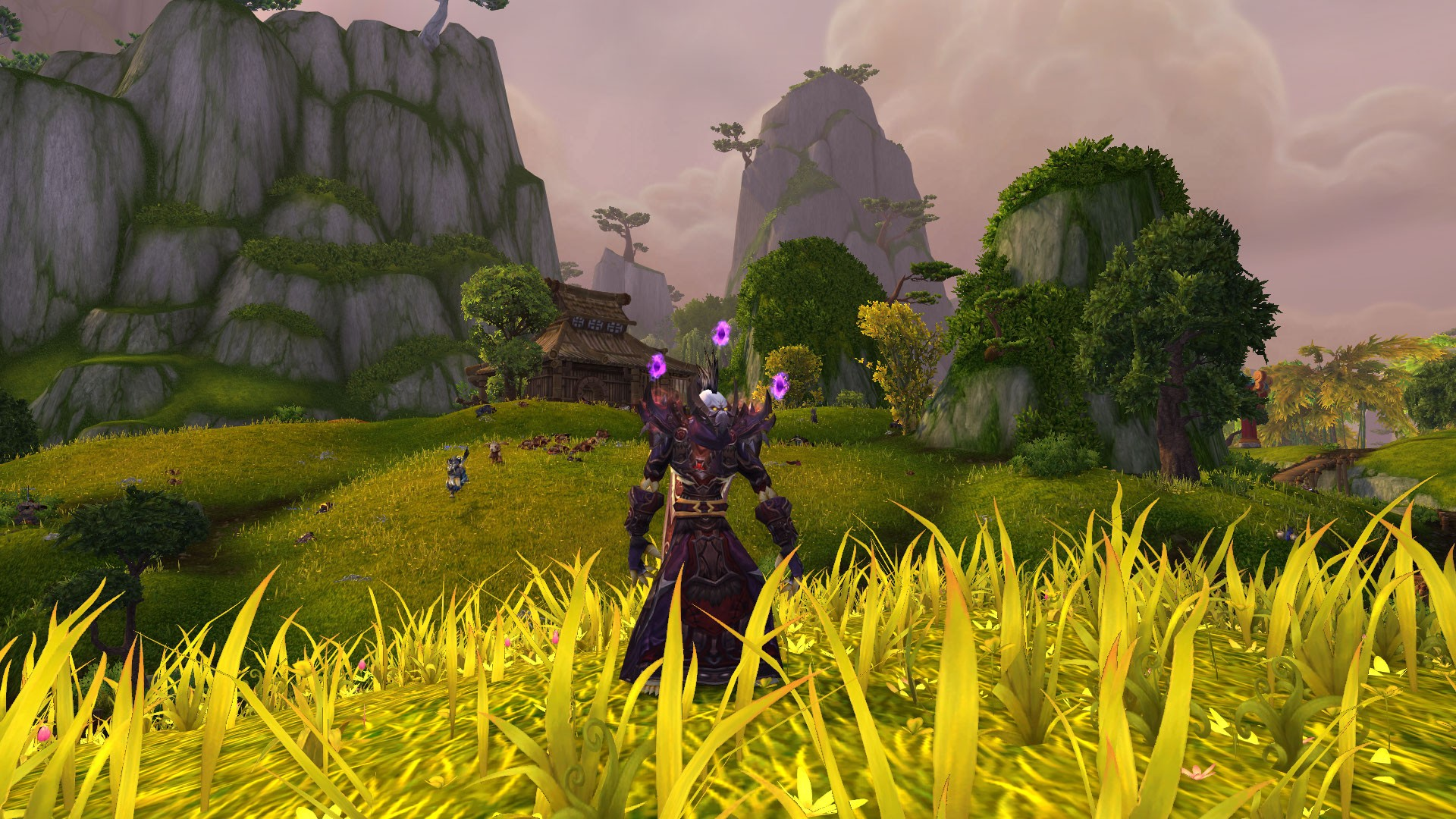 World of Warcraft: Mists of Pandaria - I think that the trees look much better