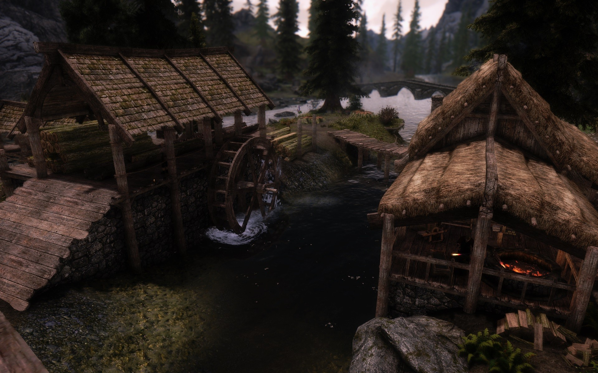 Minor mods to Riverwood - Skyrim Revisited