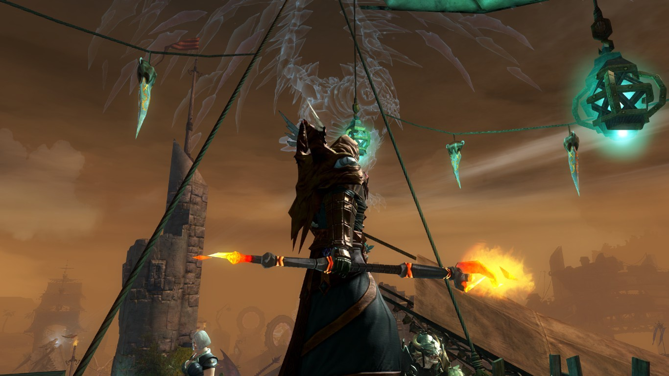 "Guild Wars 2 - The dragon bash ""Dragon"""