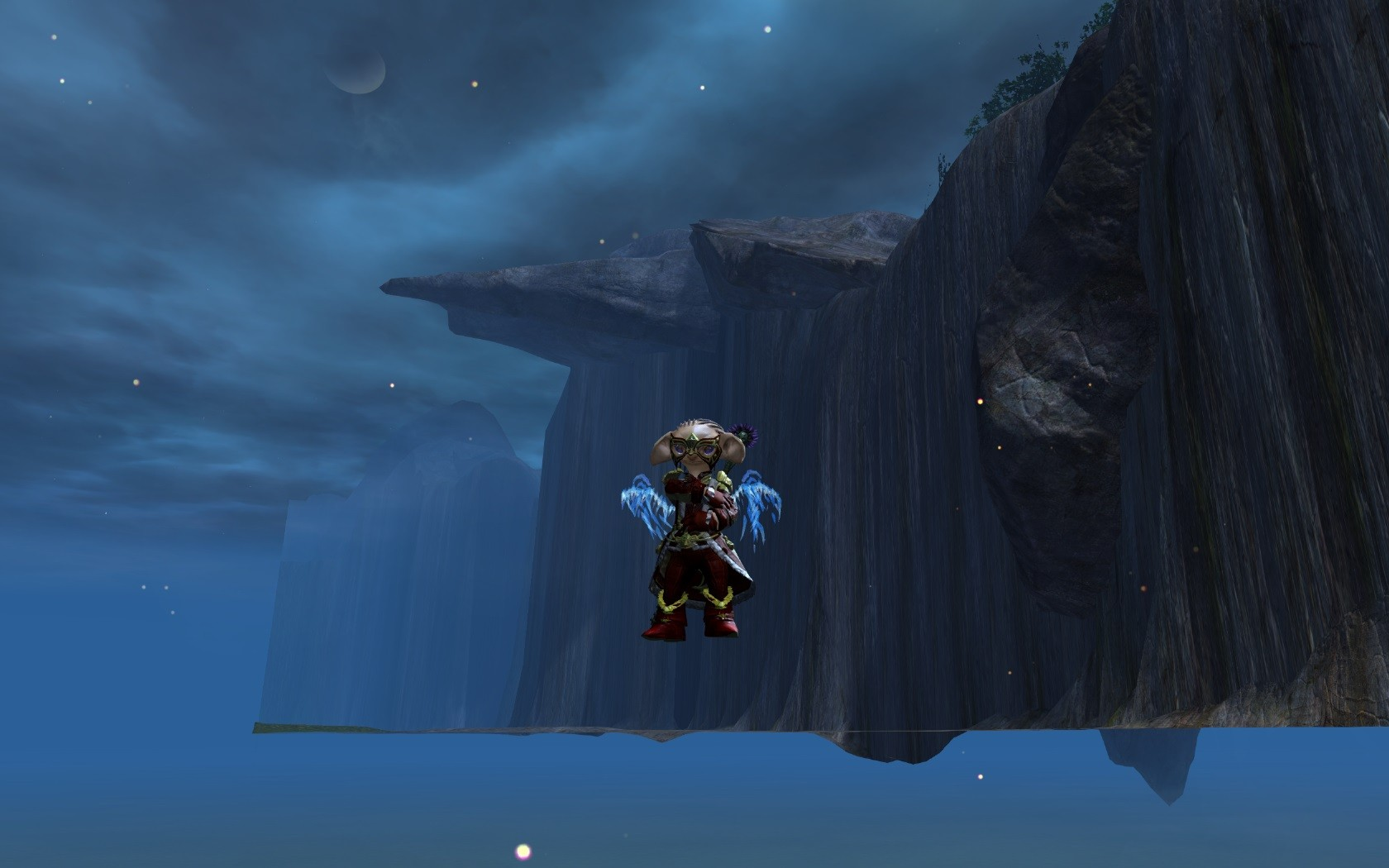 Guild Wars 2 - Flying Asura
