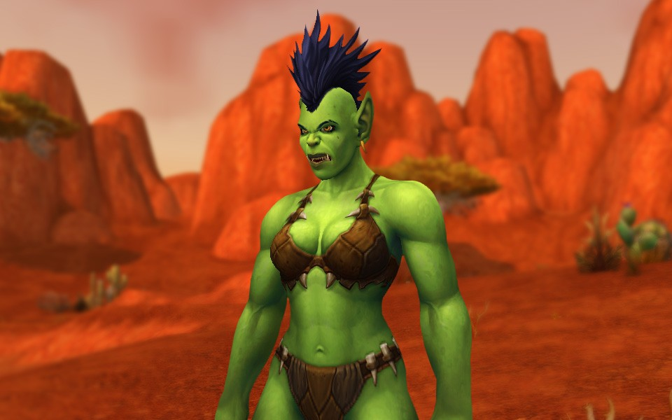 World of Warcraft - Hulk after transgender surgery