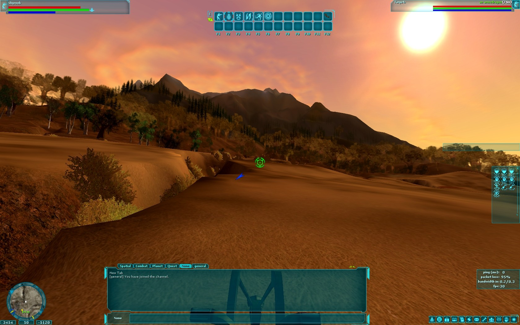 Star Wars Galaxies - Corelian Mountainside