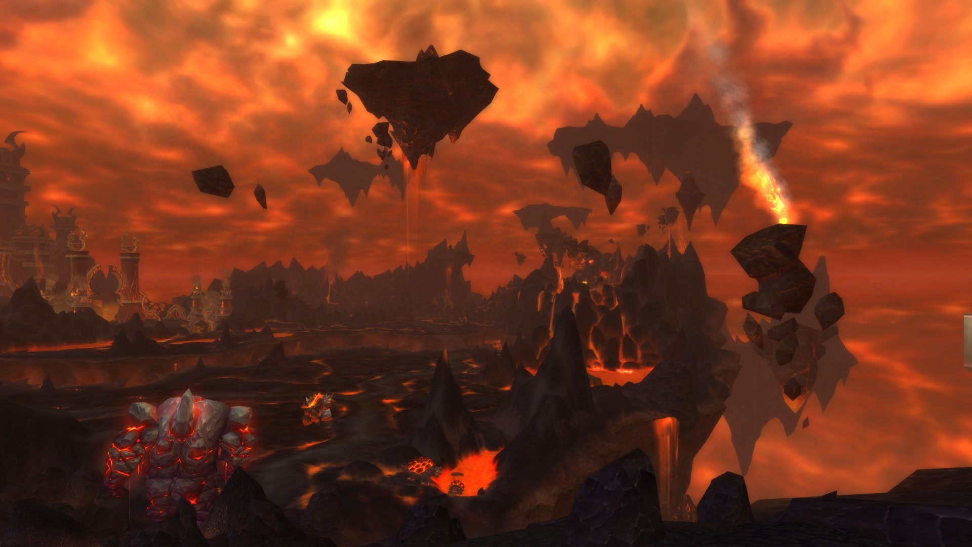 World of Warcraft - Fire lands