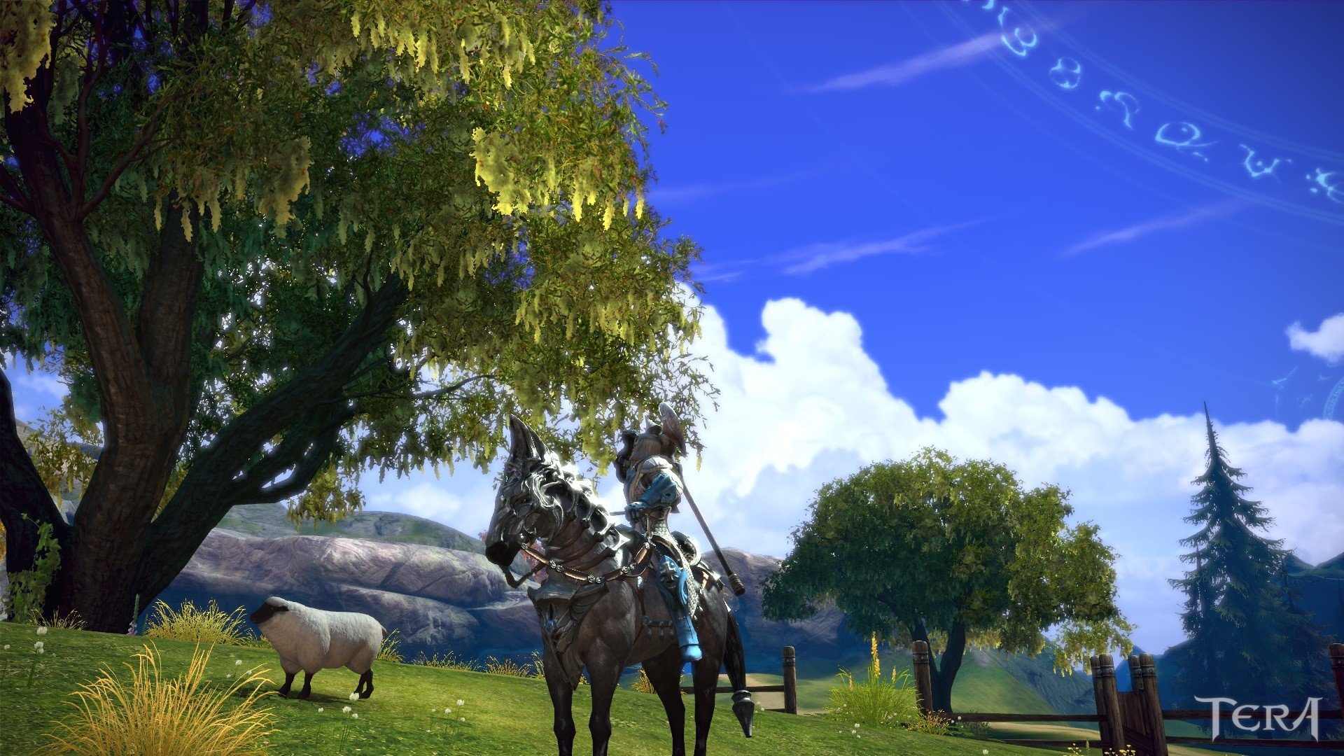 TERA - Hmm... no one would probably notice if i nab me a sheep... ... or two...