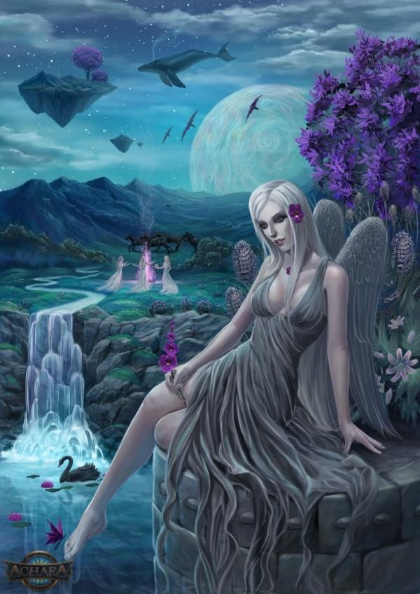 Valnurana Achaea Goddess game artwork