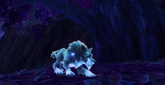 World of Warcraft - Warlords of Draenor Ghost Wolf looks so much better.