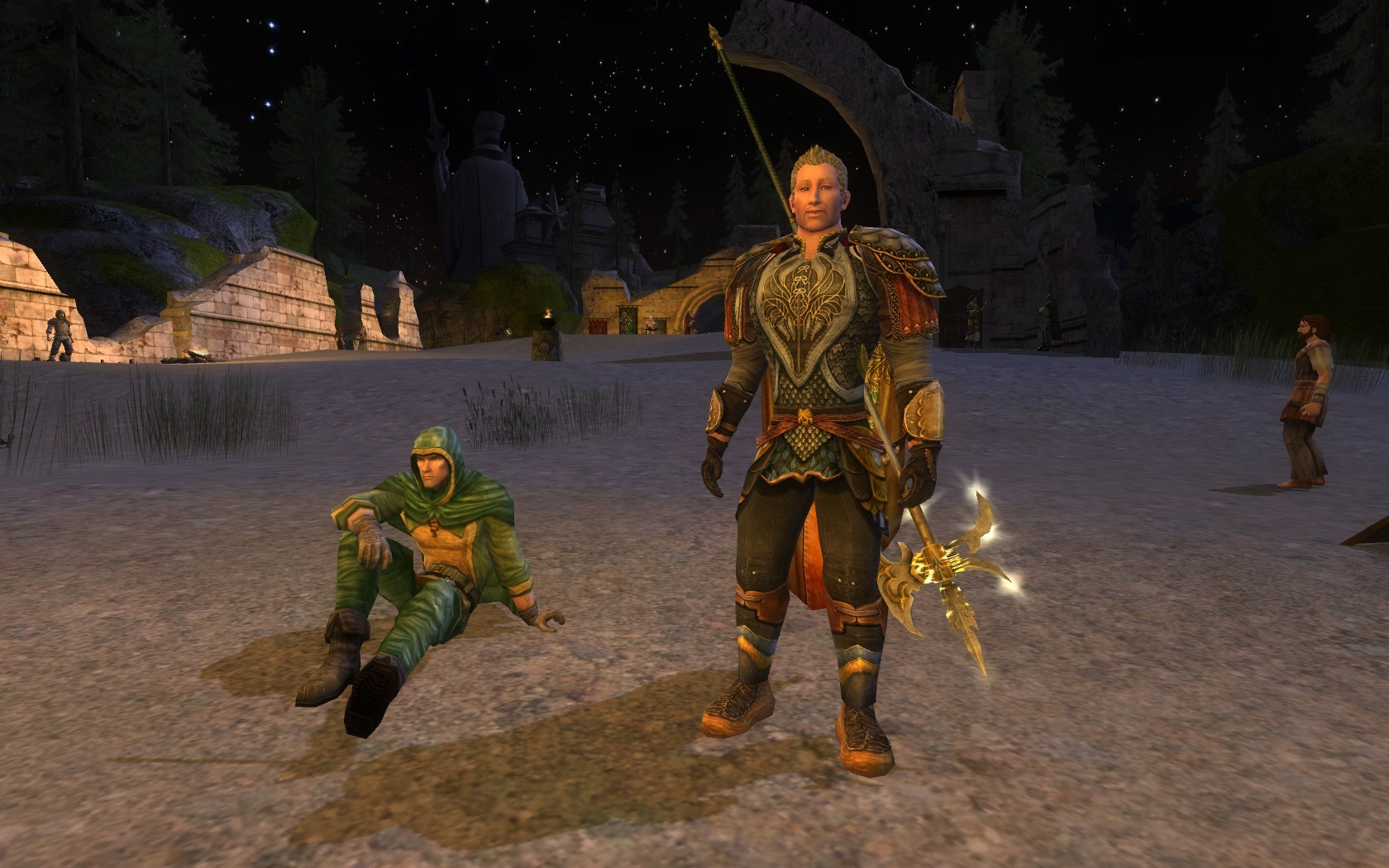 Lord of the Rings Online - Captain in Tinnudir