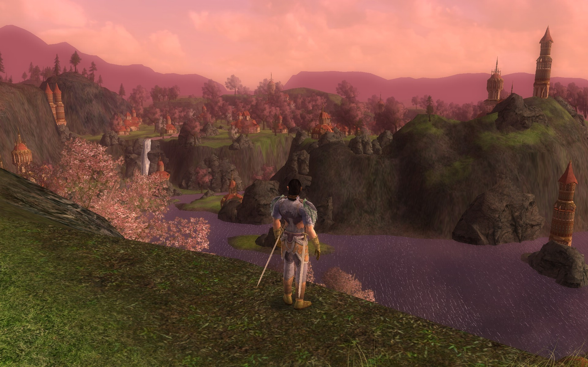 Lord of the Rings Online - love the views