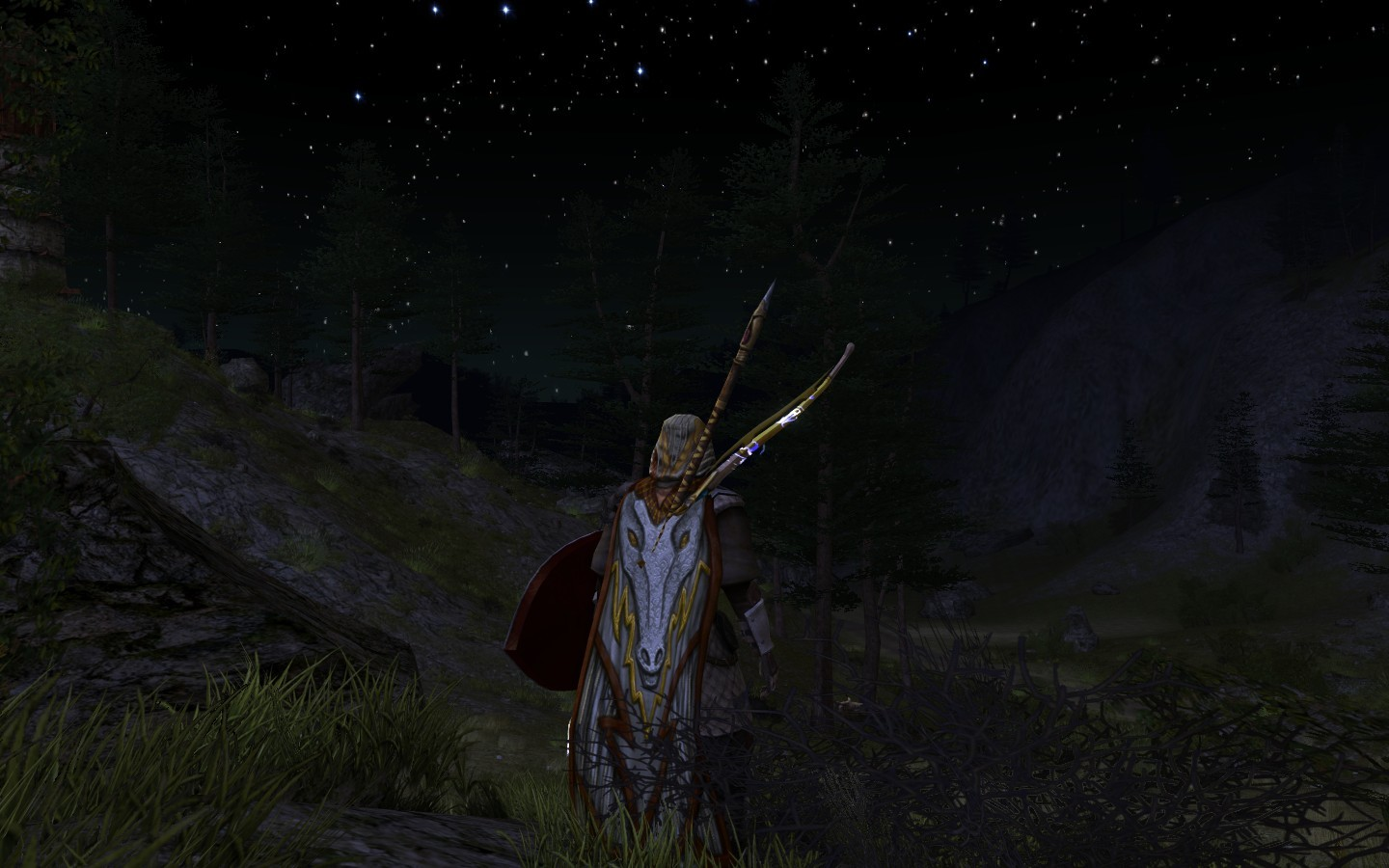 Lord of the Rings Online - Something stirs in the night air ...