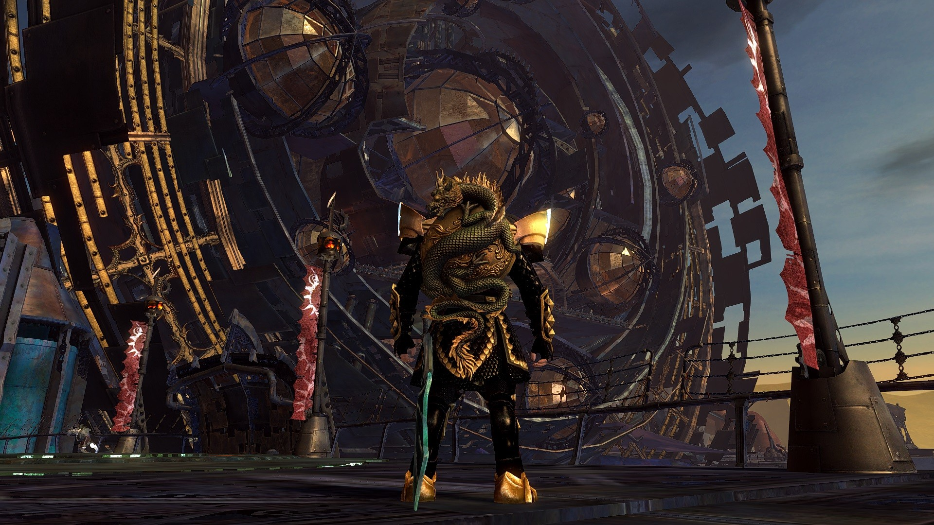 GW2 Jade Shield on my Guardian!