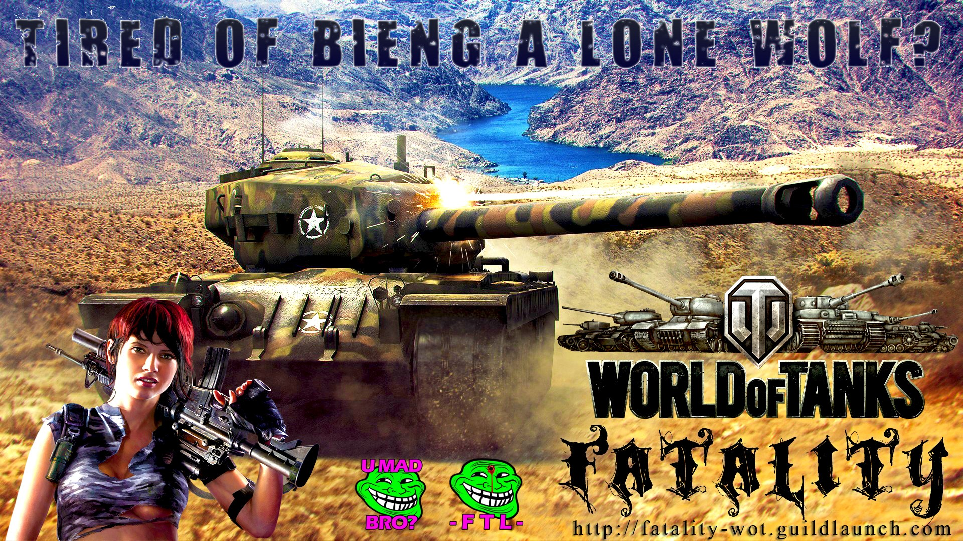 T34 HEAVY TANK RECRUITMENT -FTL- FTLTY FATALITY FATAL1TY CLAN WALLPAPER WORLD OF TANKS