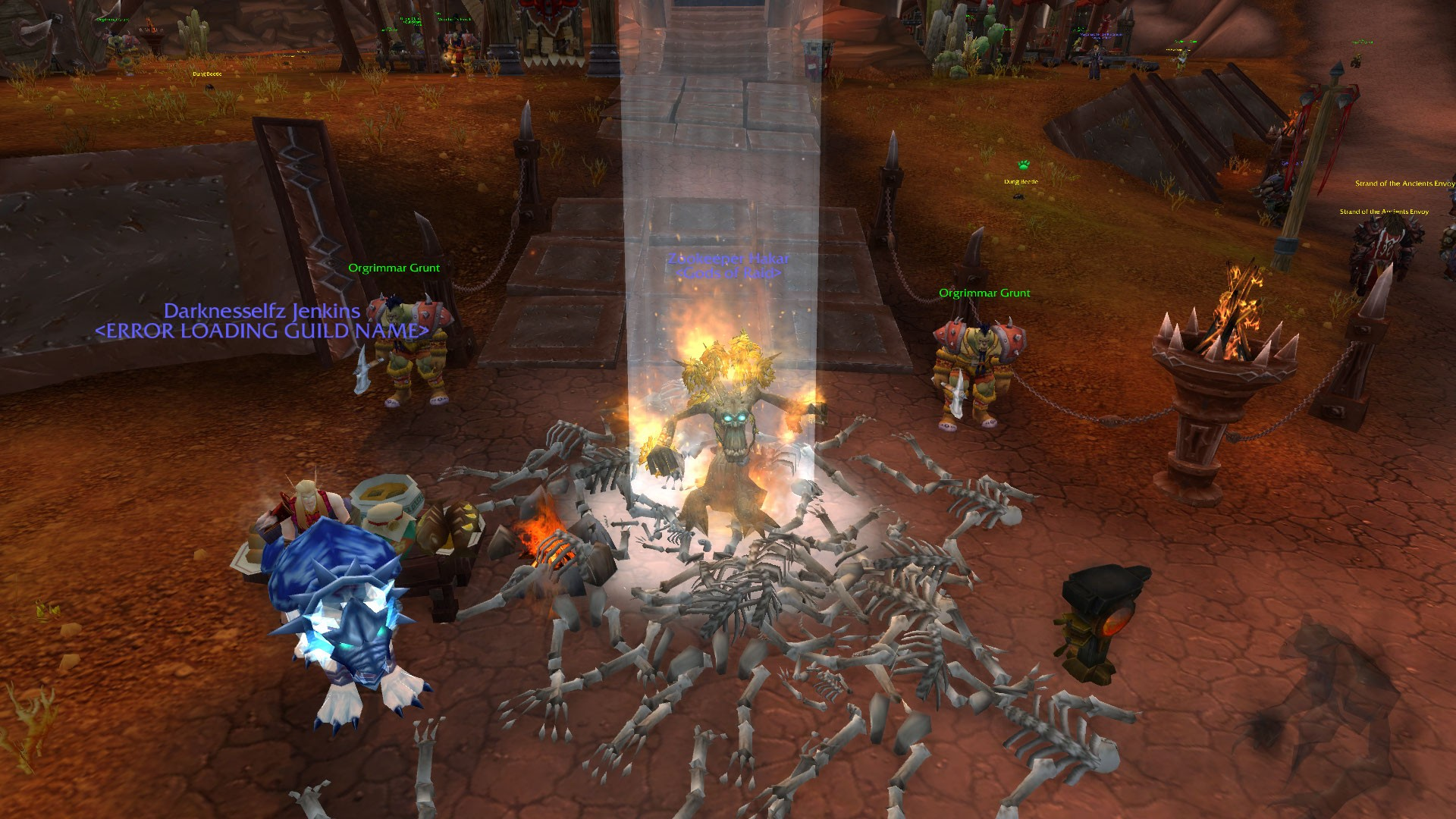 World of Warcraft - All shall perish before the Burning Tree :D