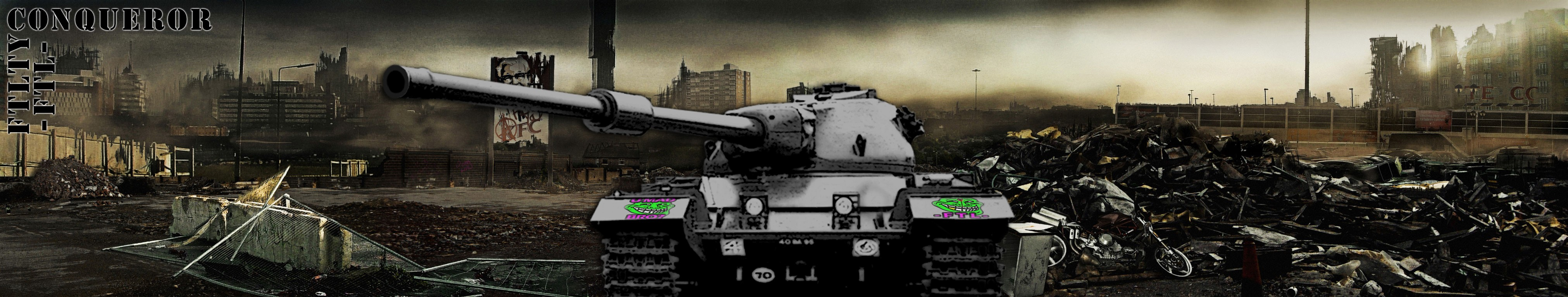 CONQUEROR HEAVY TANK FTL FTLTY CLAN WORLD OF TANKS FATALITY FATAL1TY