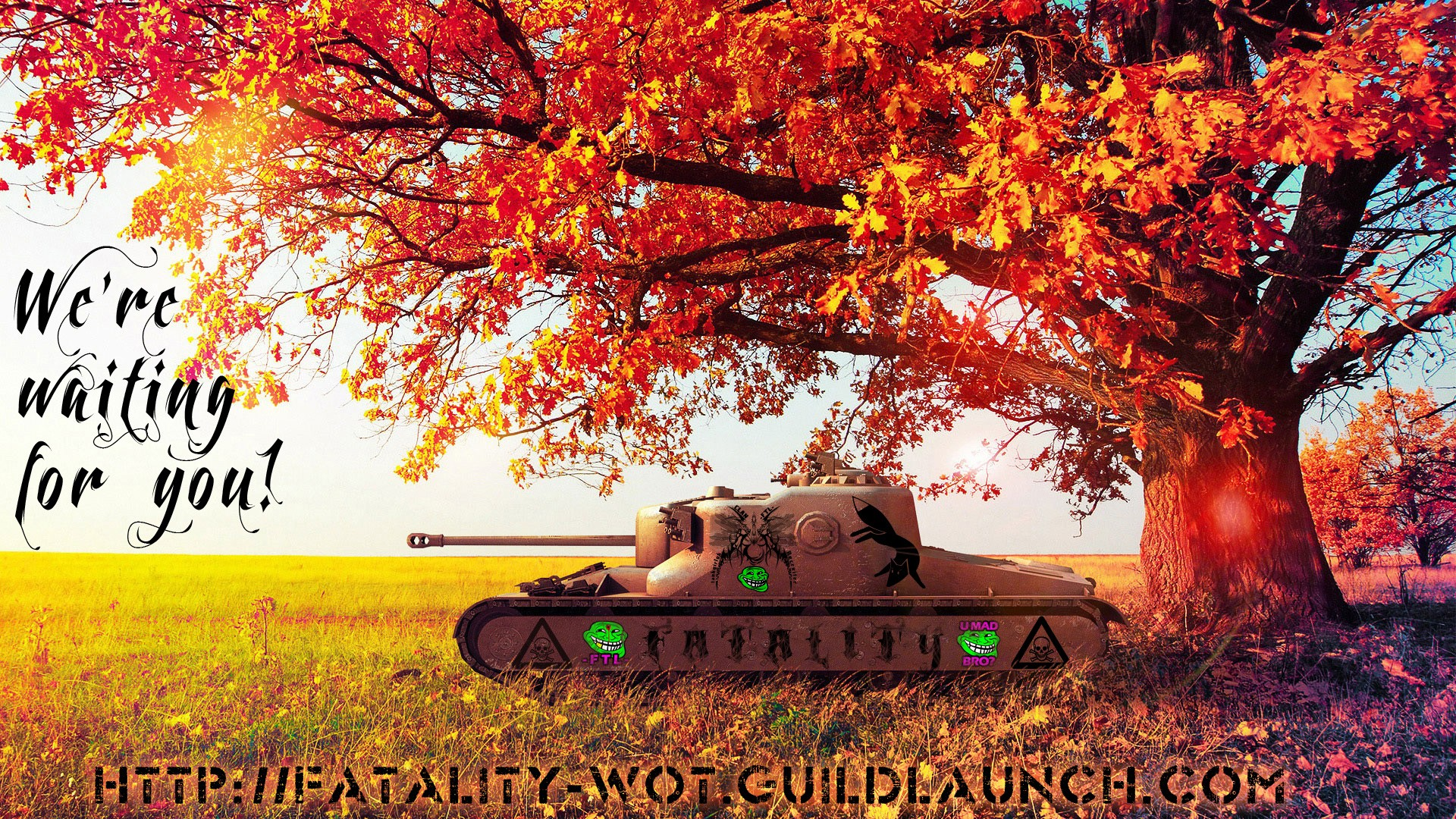 AT 15 TANK DESTROYER RECRUITMENT -FTL- FTLTY FATALITY FATAL1TY CLAN WALLPAPER WORLD OF TANKS