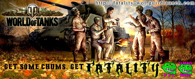 RECRUITMENT FTL FTLTY CLAN WORLD OF TANKS FATALITY FATAL1TY