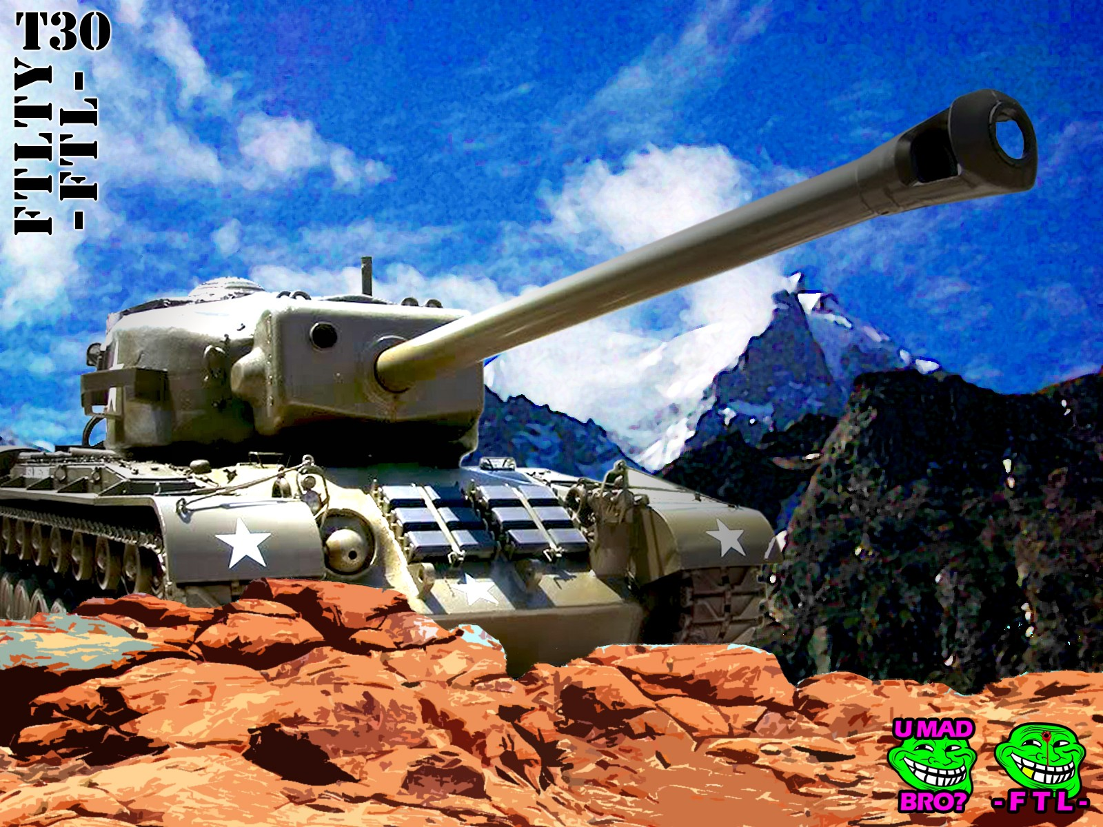 T30 TANK DESTROYER FTL FTLTY CLAN WORLD OF TANKS FATALITY FATAL1TY