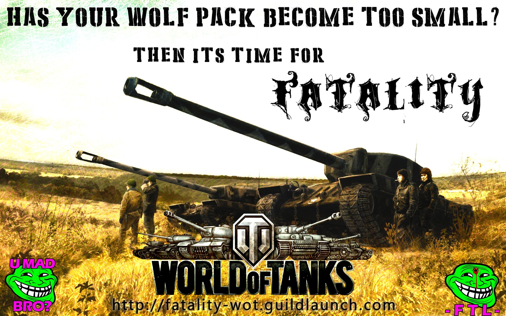 AMERICAN TANKS FTL FTLTY CLAN WORLD OF TANKS FATALITY FATAL1TY