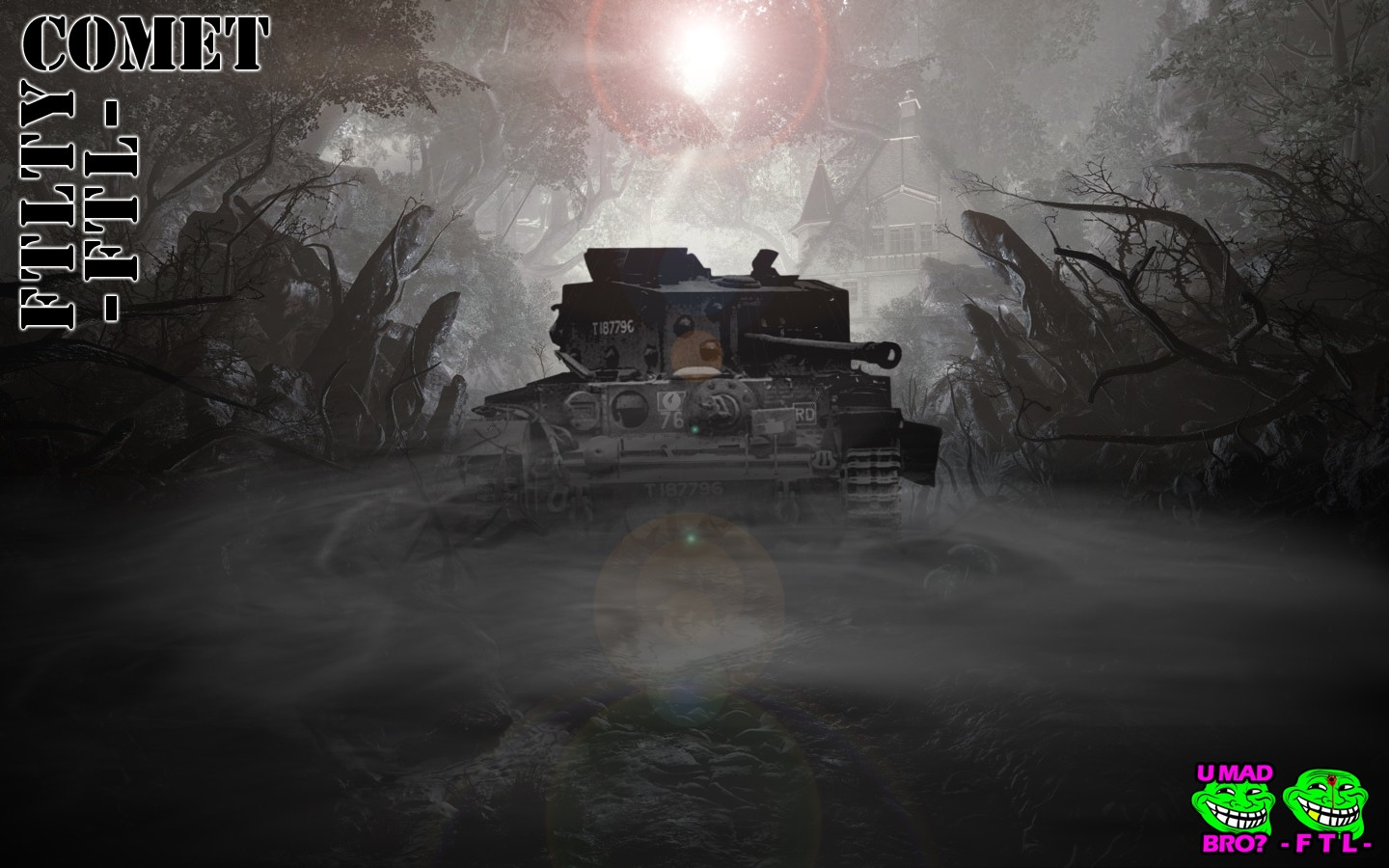 COMET LIGHT TANK FTL FTLTY CLAN WORLD OF TANKS FATALITY FATAL1TY