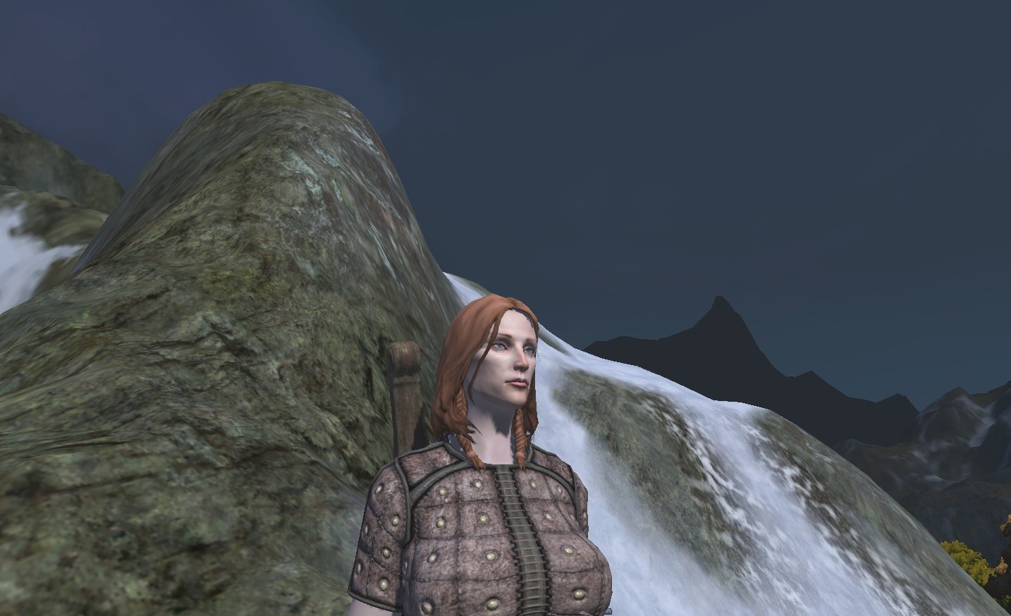 Age of Conan: Unchained - Calasha contemplates complete Ymir genocide.