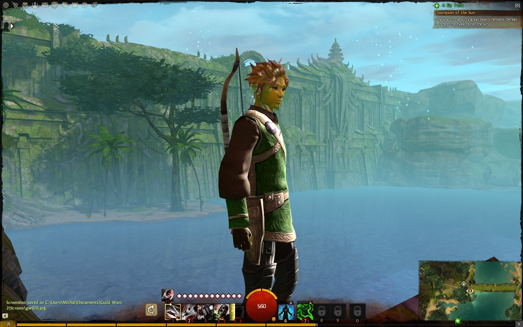 Guild Wars 2 - GW2 without p-p effects. I think I actually like it better. higher view distance and no character outlines when selecting.