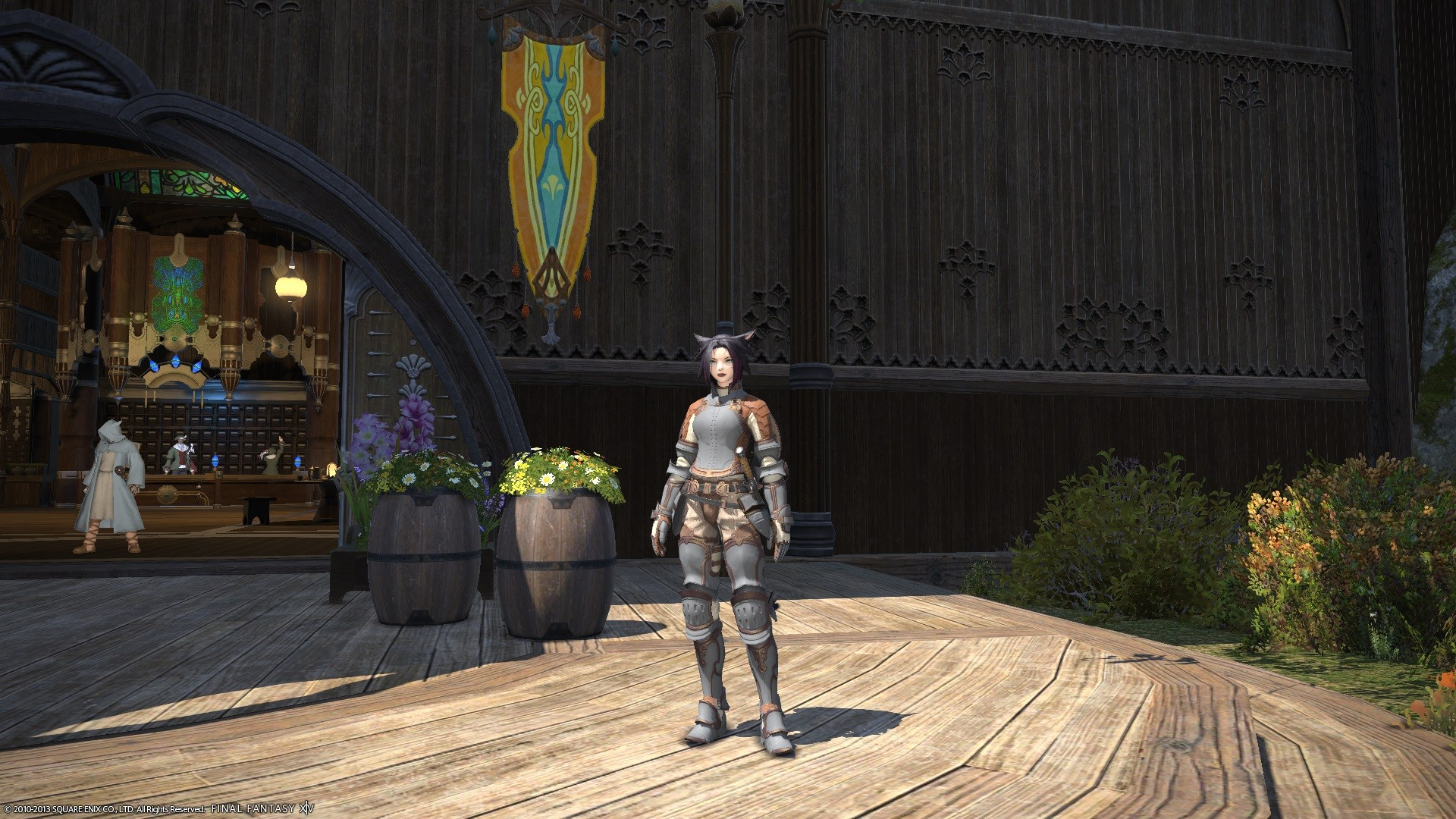 Final Fantasy XIV: A Realm Reborn - Level 16 Armor, not even close to Endgame. I wish other Games had that as well.