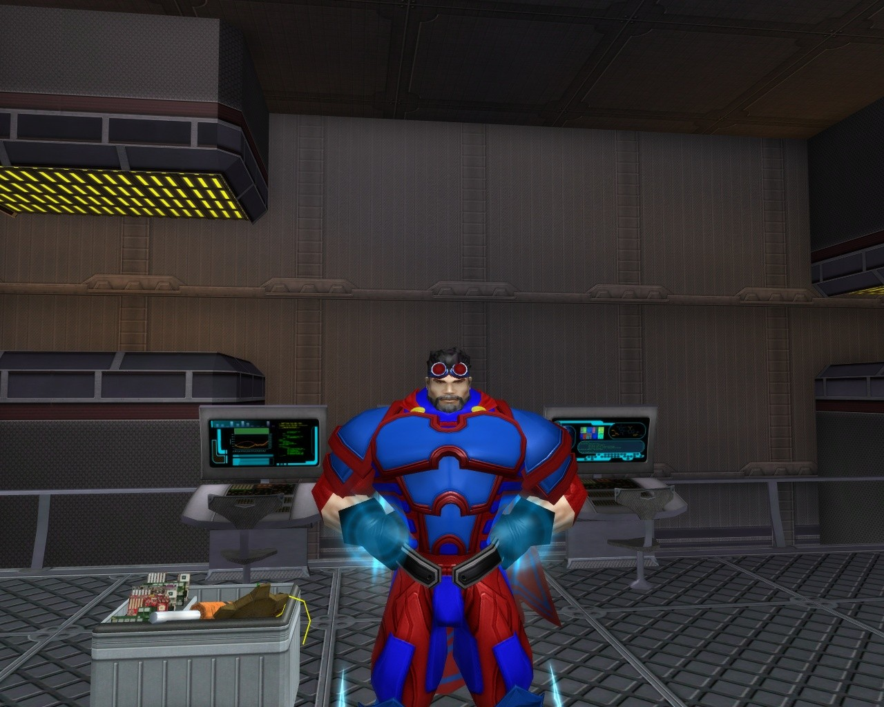 City of Heroes - My Tank Raging Blue Ice/Mace