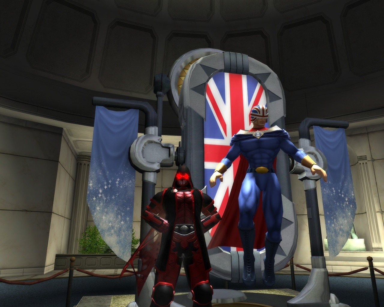 City of Heroes - Hanging With Hero 1
