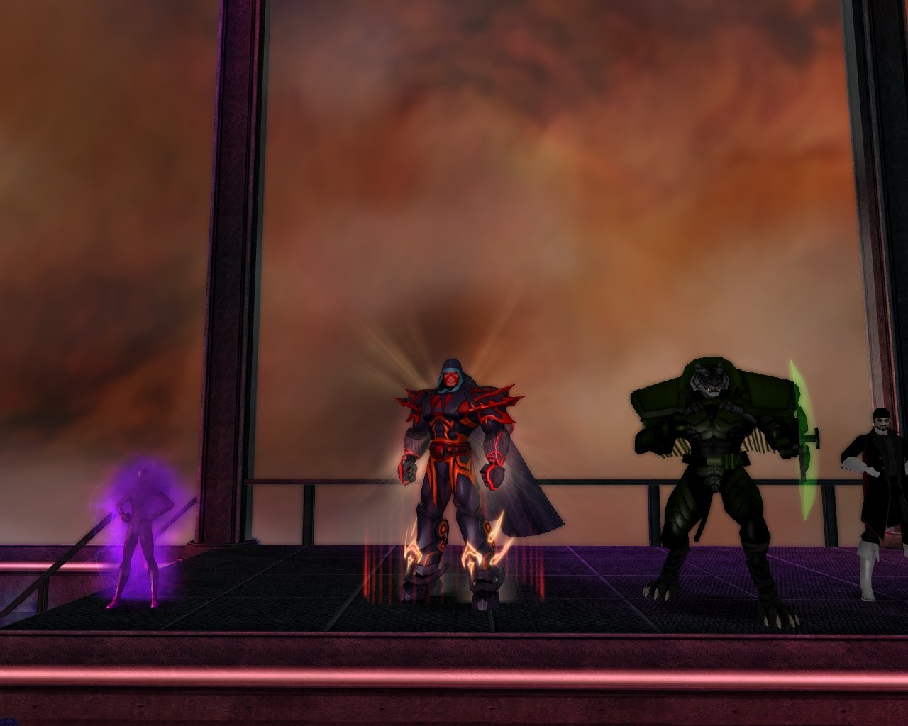 City of Heroes - Costume Contest in Pocket D