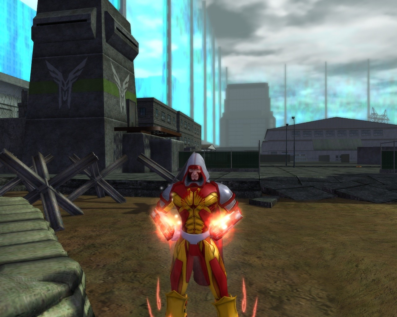 City of Heroes - Hanging in RWZ