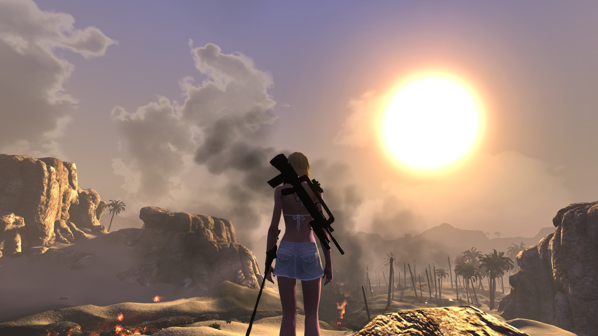 The Secret World - A hot day in the desert