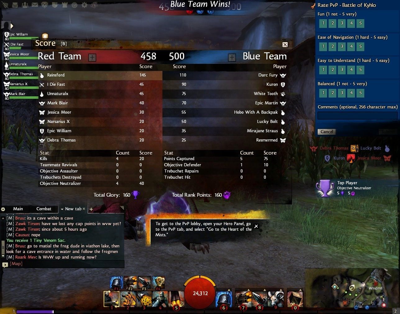 Guild Wars 2 - Showing off the power of an Engineer in PvP