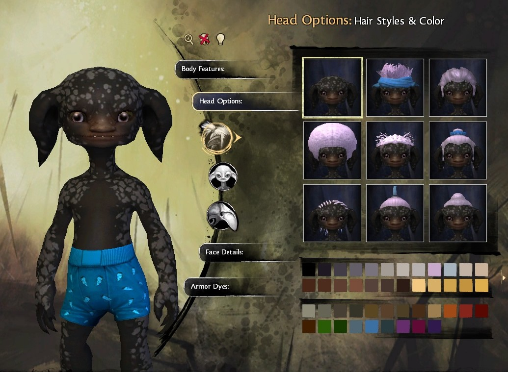 Guild Wars 2 - my dark asura