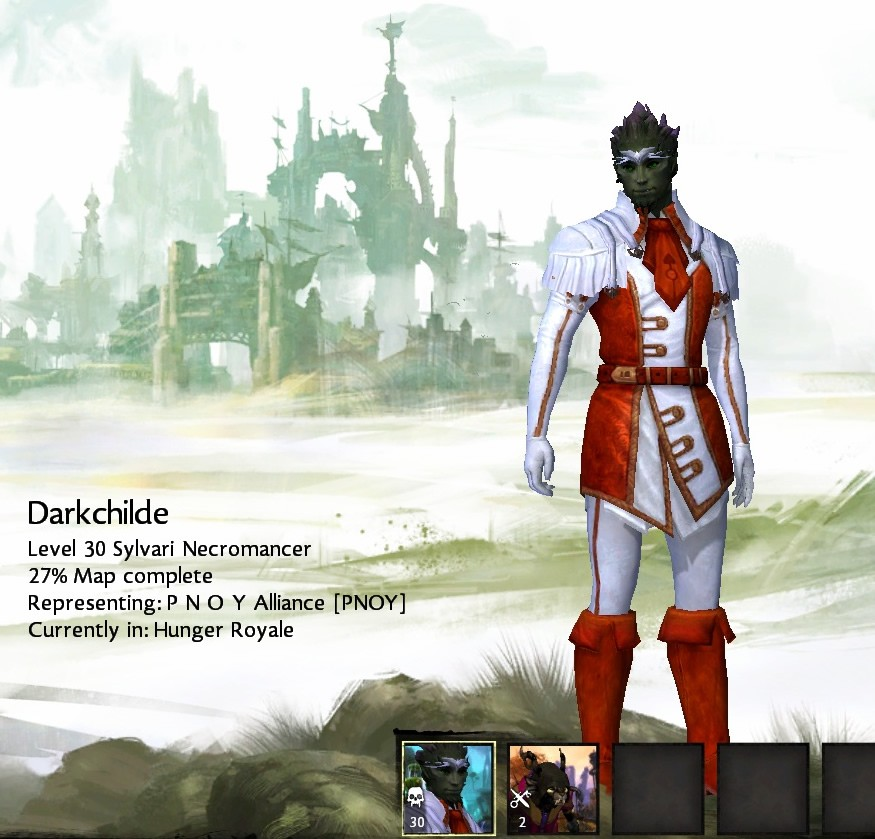 Guild Wars 2 - Level 30 for BWE3! and i didn't feel any grind