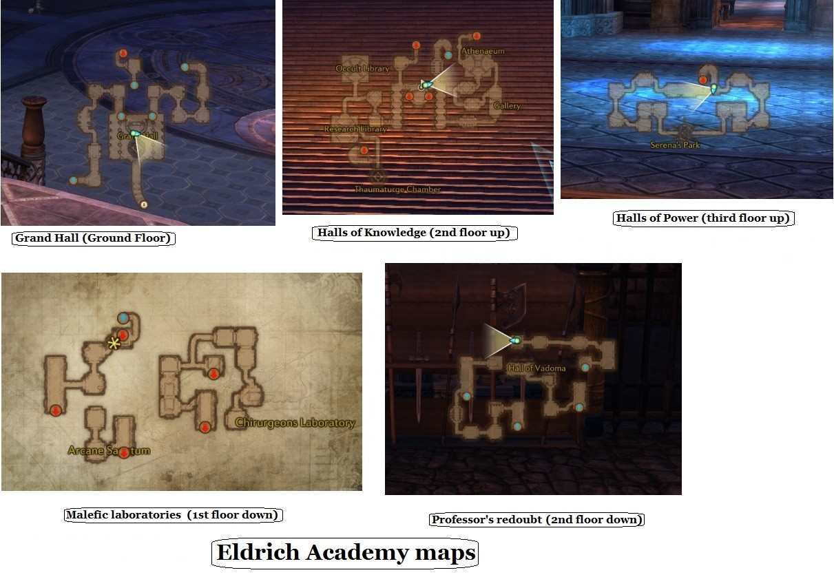 Eldritch map