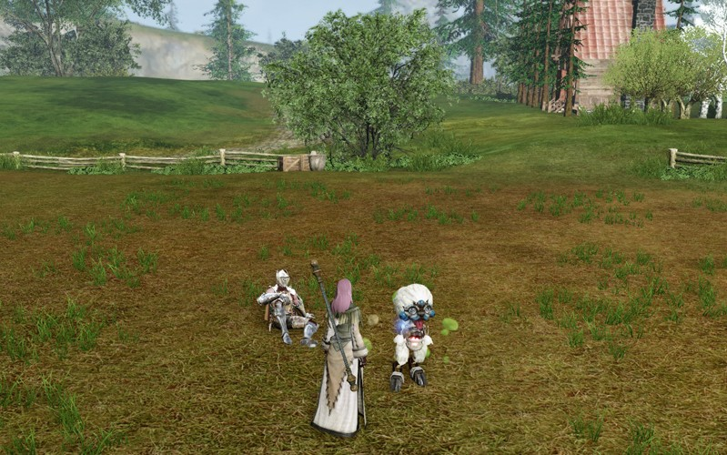 ArcheAge - I brought up an interesting creature called TARE.