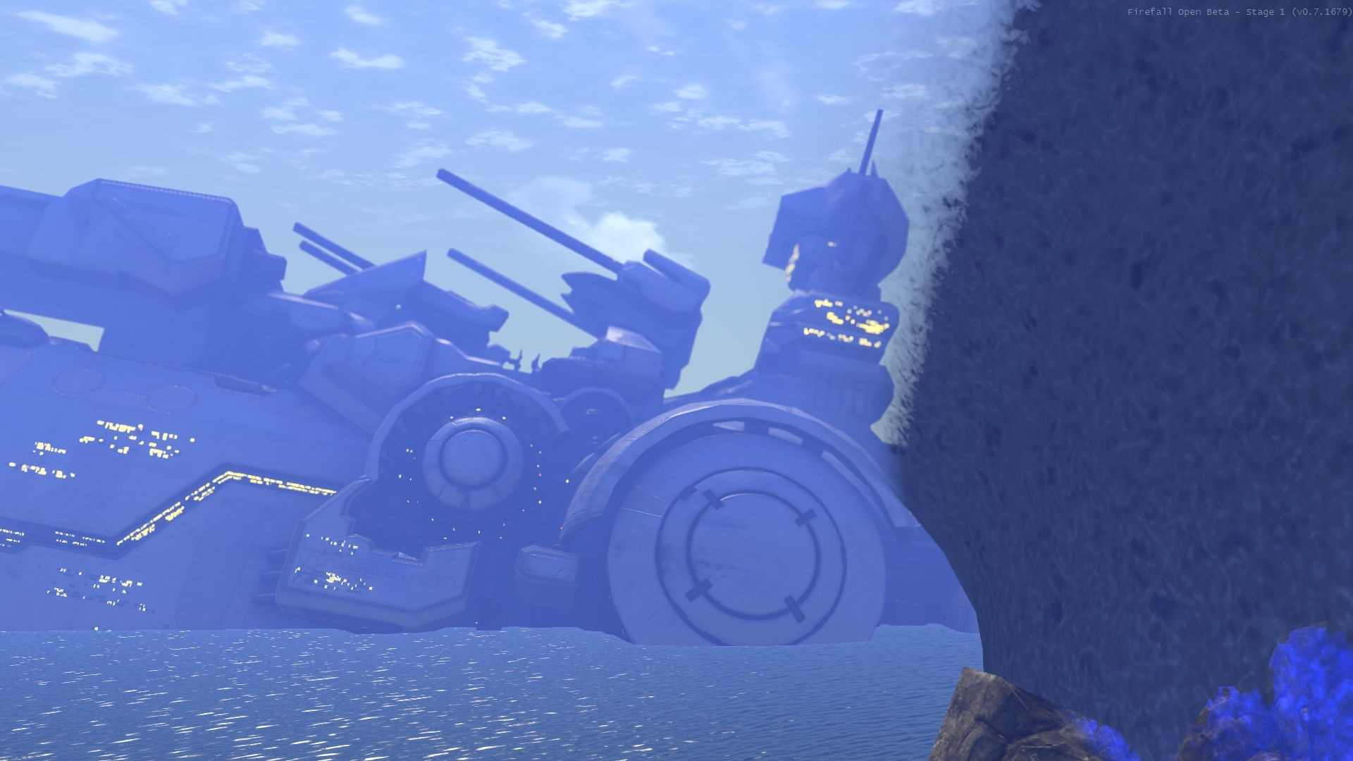 Firefall - doubt yu culd get closer to arclight whilst still bein on dry ground :)