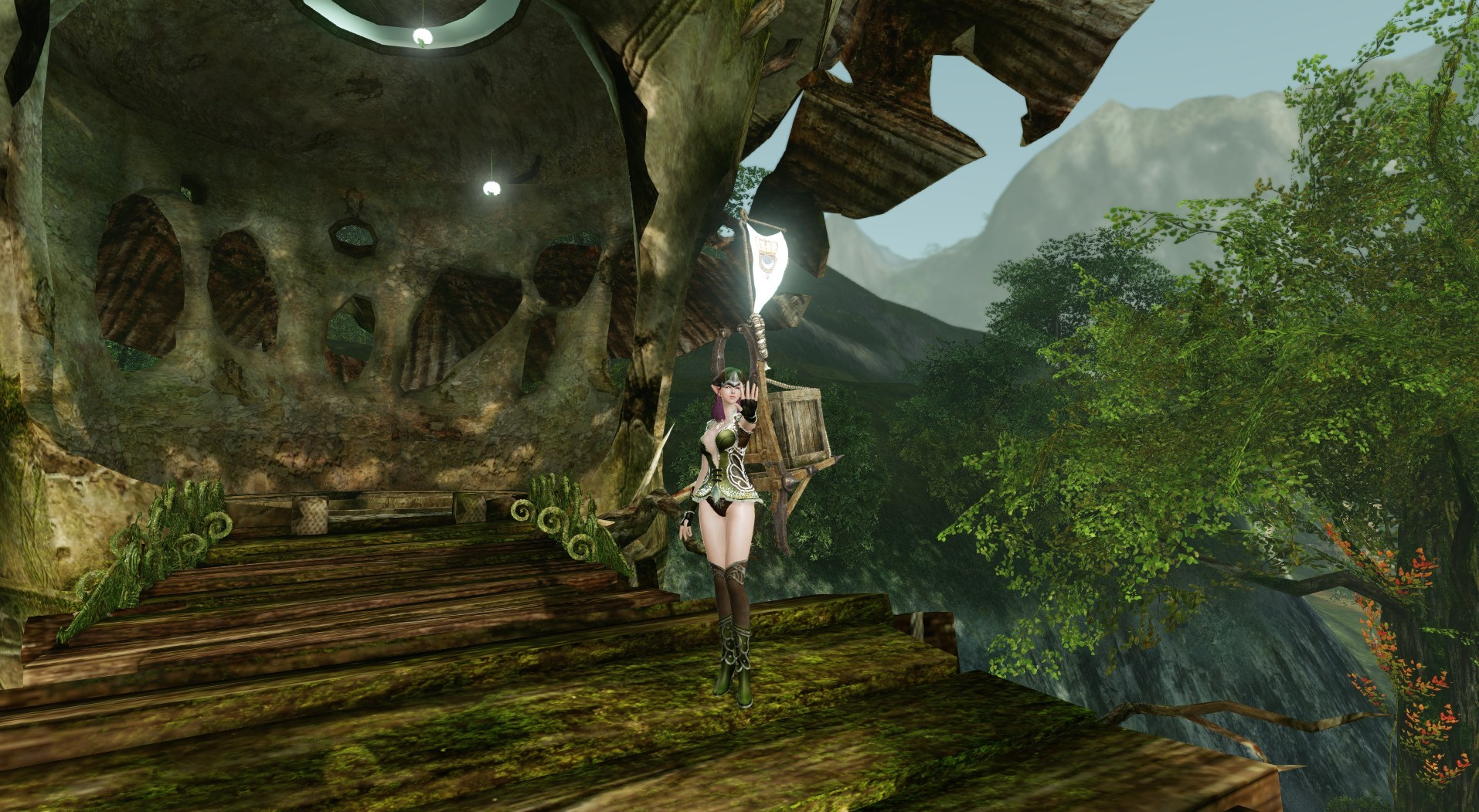 ArcheAge - I guess some armor sets arn't meant to be mixed.