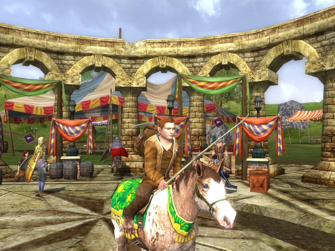 Lord of the Rings Online - Lithe Festival Pony