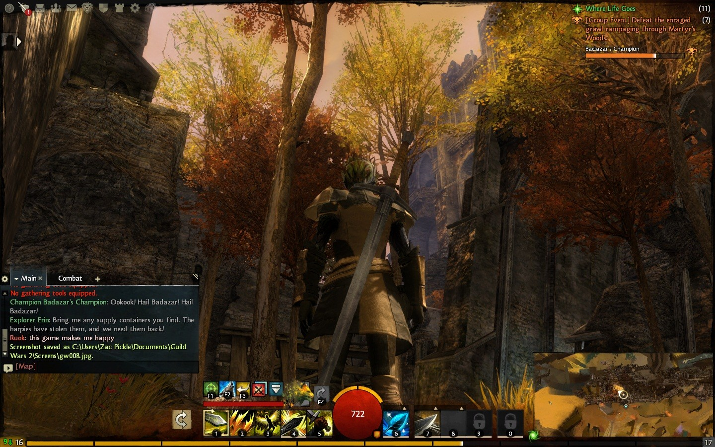 Guild Wars 2 - Ruins of Ascalon