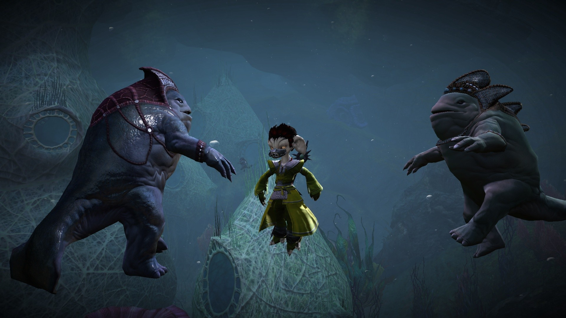 GW2-Making friends underwater!